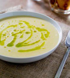 Creamy Potato Leek Soup Recipe - RecipeChart.com