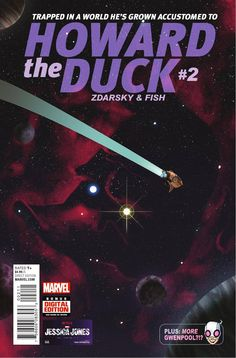 Preview: Howard the Duck #2, Story: Chip Zdarsky Art: Veronica Fish Covers: Joe Quinones, Veronica Fish, Tom Fowler & Fred Hembeck Publisher: Marvel Publication Date: Dece...,  #All-Comic #All-ComicPreviews #ChipZdarsky #Comics #FredHembeck #HowardtheDuck #JoeQuinones #Marvel #previews #TomFowler #VeronicaFish