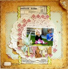 Little Princess *Bo Bunny* - Scrapbook.com