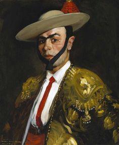 Calero (Antonio Baños), 1908 by Robert Henri (American 1865-1929)
