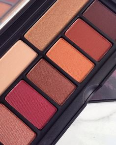 Smashbox Cover Shot Ablaze DUPE to Urban Decay Heat palette