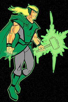 The Emerald Hammer | 23 Heroes Who Would Make Incredible Green Lanterns