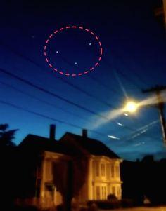 EXTRATERRESTRE ONLINE: ESTADOS UNIDOS - Notícias WCSH6: Possível Avistamento de UFO em Rockland?