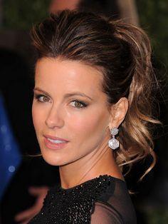 Best ponytail, Kate Beckinsale, 2011 Academy Awards