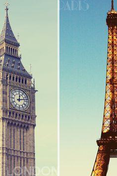 Le Parlement à Londres est plus faible que la tour Eiffel.