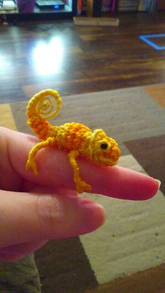 Ravelry: Leo the Tiny Chameleon pattern by Wee Creatures