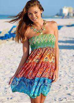 MULTI Convertible bandeau dress from VENUS