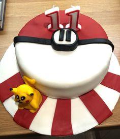 Pokemon cake - 11th birthday cake