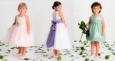 Espectaculares ¡En Fotos! Vestidos de Niñas para una Boda de Gala ¡Son Un sueño!