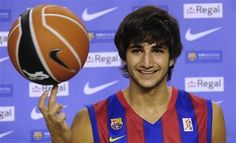 Ricky Rubio!! Actually the second Spanish boy I crush on... ;) cuz the first is Pau