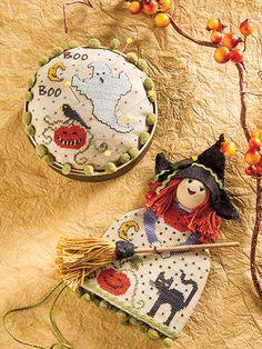 Halloween cross stitch patterns and ideas