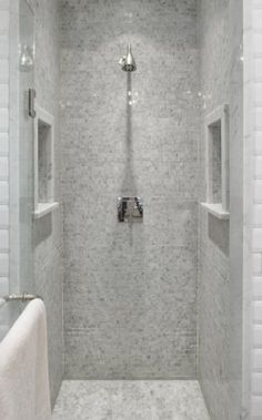 Simple and Impressive Tricks: Bathroom Remodel Storage Showers affordable bathroom remodel framed mirrors.Bathroom Remodel Storage Showers bathroom remodel with window laundry rooms.Basement Bathroom Remodel Home Improvements. Small Bathroom With Shower, Small Showers, Laundry In Bathroom, Bathroom Design Small, Basement Bathroom, Master Bathroom, Narrow Bathroom, Shower Niche, Master Shower