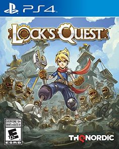 Lock's Quest - Xbox One, Video Games Latest Video Games, Video Games Xbox, Xbox Games, Xbox One, Videogames, Defense Games, Unique Maps, Video Game Reviews, Real Time Strategy