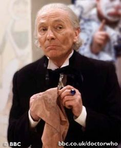 The 1st Doctor - William Hartnell  (The first episode of Doctor Who aired on November 23, 1963. The day after JFK was assassinated.)