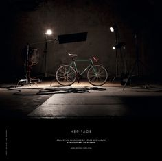Heritage-Paris Collection de cadres de vélos sur mesure - Manufacturés en France