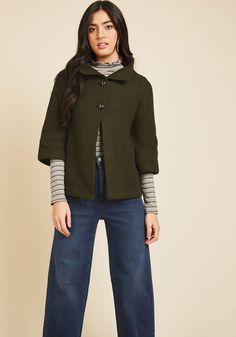 Corner Coffee Shop Cardigan in Basil, #ModCloth