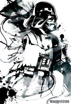 #StarWars Vader Print