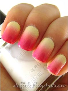 This polish is pretty awesome! It has a blur style...