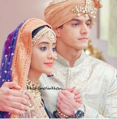 and Forever - Yrkkh Kaira Cutest Couple Ever, Cute Love Couple, Best Couple, Romantic Couples, Cute Couples, Kaira Yrkkh, Kartik And Naira, Mohsin Khan, Always And Forever