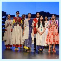 A burst of colours at Ka.Sha to toned down hues at Antar-Agni, Day 1 showcased designers Karishma Shahani Khan and Ujjawal Dubey playing on their strengths.