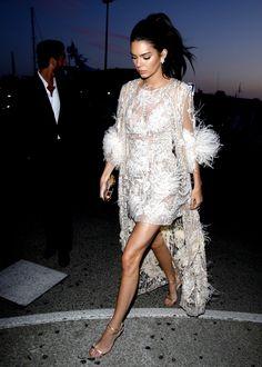 Kendall in Elie Saab