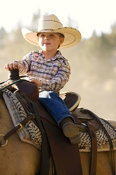 lil cowboy, this will be my son