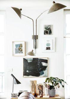 Modern Wall Sconces Living Room Leather Sets Sale 1210 Best Decor Images Brass Sconce Light