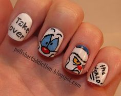 Pinky and the Brain - Polish Art Addiction - 90s, cartoon, nail art