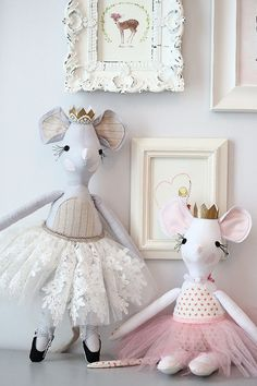 """Milly Mouse 18"""" Doll Pattern"""