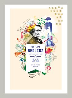 jardin graphique - Festival Berlioz jardin graphique - Festival Berlioz 2016 Live in Wonder typography design Design Brochure, Graphic Design Posters, Graphic Design Typography, Graphic Design Illustration, Graphic Designers, Graph Design, Web Design, Page Layout Design, Event Poster Design