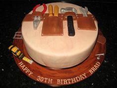 tool box cake ideas