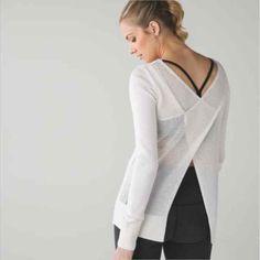 nwot lululemon practice jacket in grey  petite style