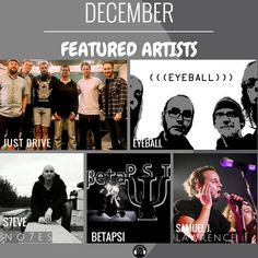 December featured artists are now up on Music Talks!  😀  Just more great independent music.  👉  www.musictalks.xyz/?utm_content=buffer460b4&utm_medium=social&utm_source=pinterest.com&utm_campaign=buffer 💥