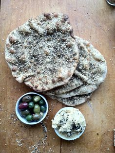 Almacucina: Sourdough Pita with zahtar
