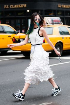 Irene Kim - New York FW Spring 2015 Street Style