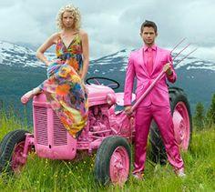 Pink farming!