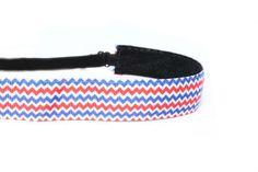 Patriotic Chevy Adjustable Non-Slip Headbands www.mavibandz.com