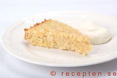 Fantastiskt god Ananaskladdkaka Fika, Dessert Recipes, Desserts, Dessert Table, How To Make Cake, Vanilla Cake, Cheesecake, Food And Drink, Drinks