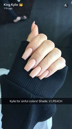 Kylie jenners new nail polish