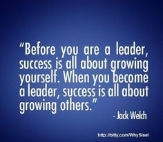 Leadership is about growing others...#leadership #develop #others