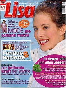 Lisa : Die Junge Zeitschrift Fuer Die Frau  http://www.allmagazinestore.com/lisa-die-junge-zeitschrift-fuer-die-frau/
