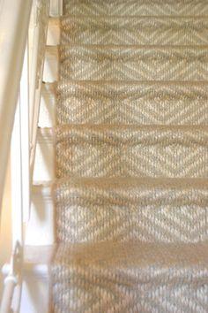 summer blues start here stair carpet