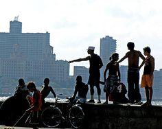 Havanas Malecón / Havanas most popular open spot