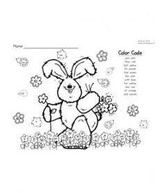 Spring Color-by-Vowels (Short & Long), 8 Total-4 Short