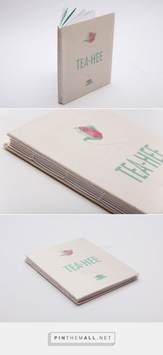 Tea-Hee Book on Behance - created via http://pinthemall.net