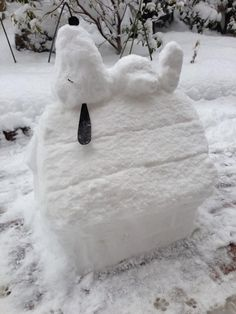 These 30 Epic Snow Sculptures Will Give You At Least One Reason To Enjoy Winter.