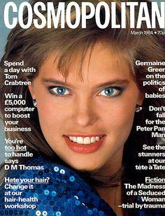 RENEE SIMONSEN  Cosmopolitan    1984  by Bill King
