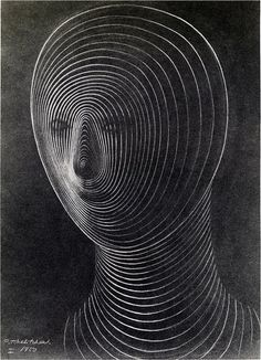 c. 1950-1952.  Pavel Tchelitchew (1898-1957) was a Russian-born surrealist painter, set designer and costume designer.