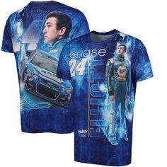 Chase Elliott Sublimated T-Shirt - Blue - $34.99