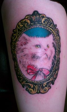Cute cat tattoo   http://tattoo-ideas.us/cute-cat-tattoo/  http://tattoo-ideas.us/wp-content/uploads/2013/06/Cute-cat-tattoo.jpg
